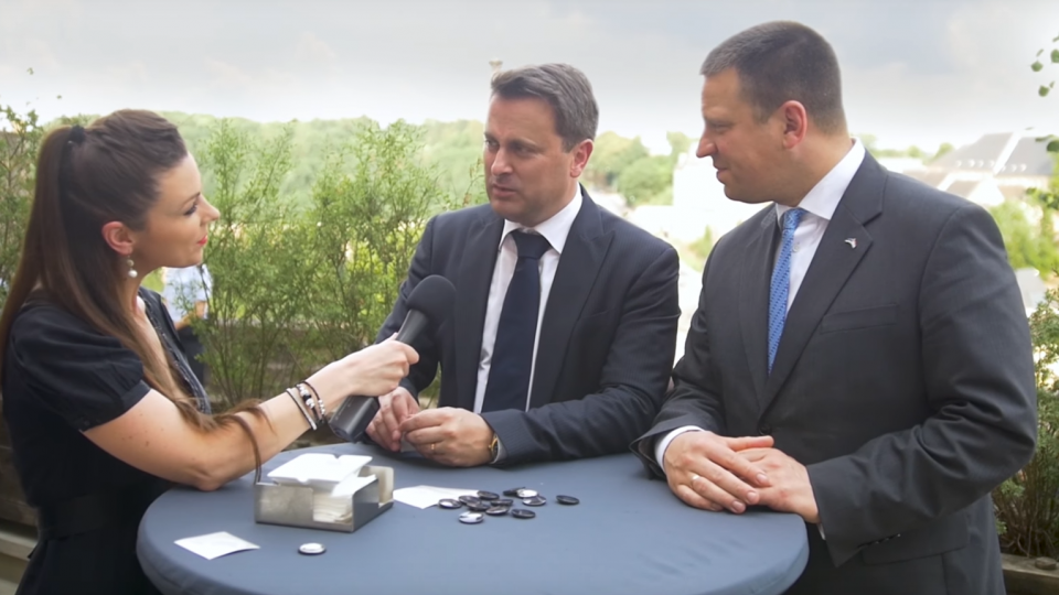 Prime minister of Luxembourg and Estonia in an interview